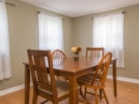 Dining Room of 15 James Street, Tewksbury MA 01876