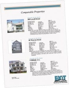 Real Estate Comparative Market Analysis/ Real Estate CMA
