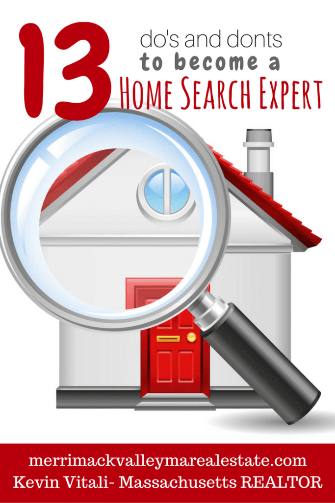 13 do's and don'ts for becoming a home search expert
