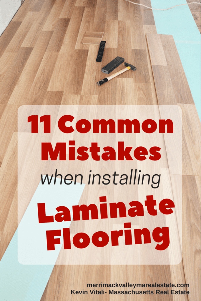 11 Common Mistakes When Installing laminate floors
